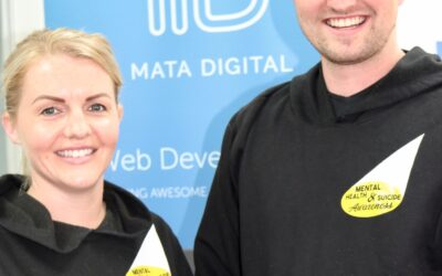 Amber McGrail, Shining Light on the Dark Matamata-Piako founder, with Mata Digital managing director Tim Hampton